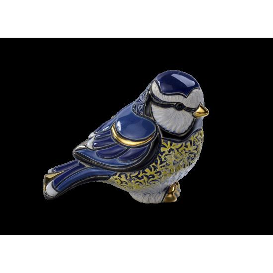 Herrerillo azul. Animales de cerámica De Rosa