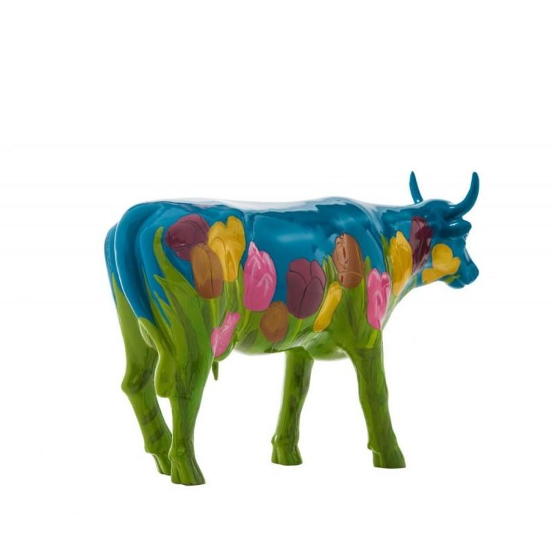 Netherlands vaca de CowParade_vista trasera