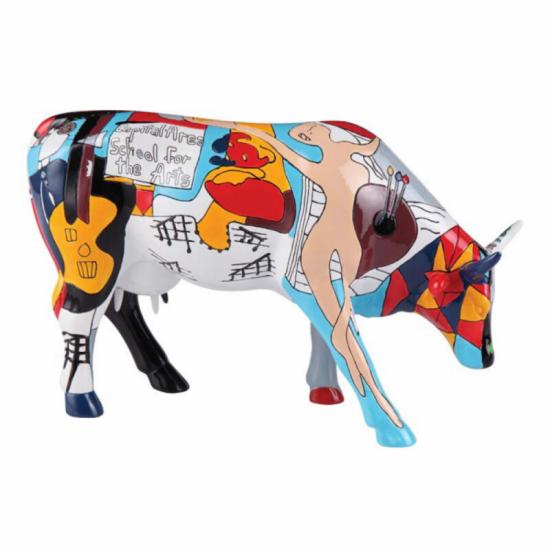 Picowso's School for the Arts vaca de CowParade