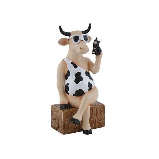 Vaca Call me Now de CowParade de Rio de Janeiro