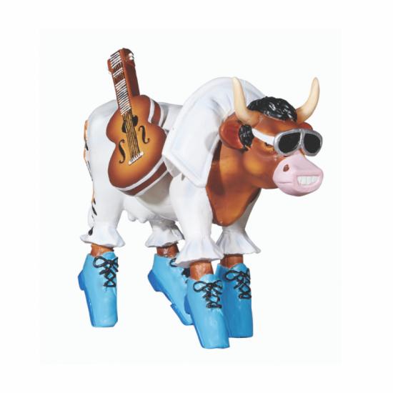Vaca Rock 'n Roll de CowParade de Paris