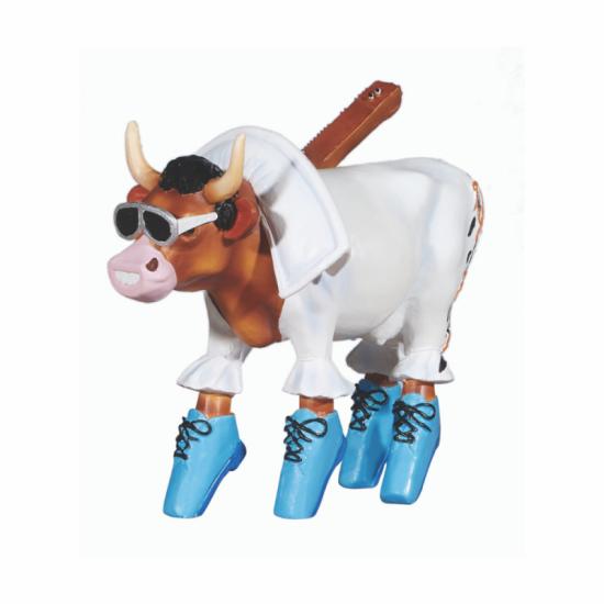 Vaca Rock 'n Roll de CowParade de Paris_vista 2