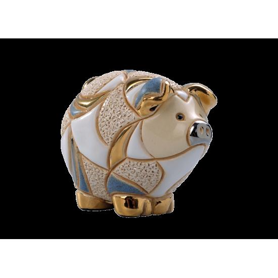 Ceramic figure of piglet