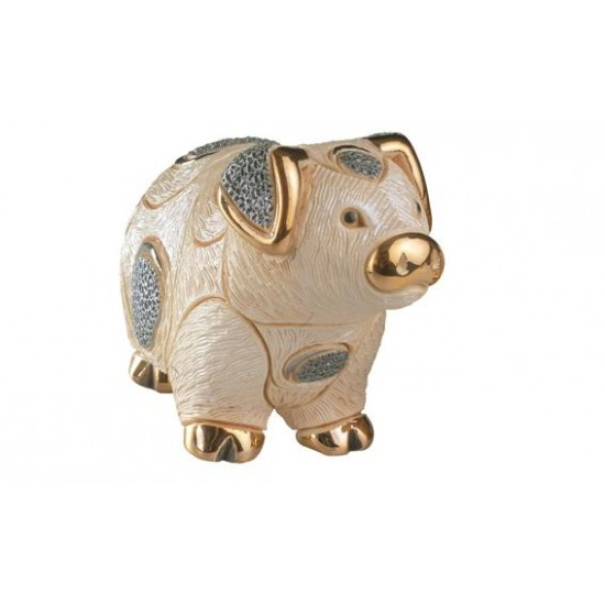 Ceramic sculpture pork