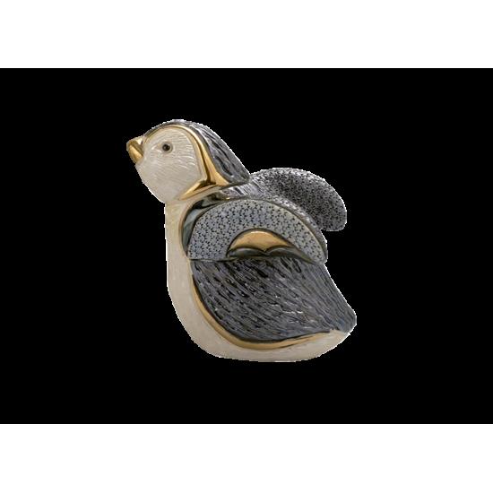 Figura de cerámica Pingüino baby caminando