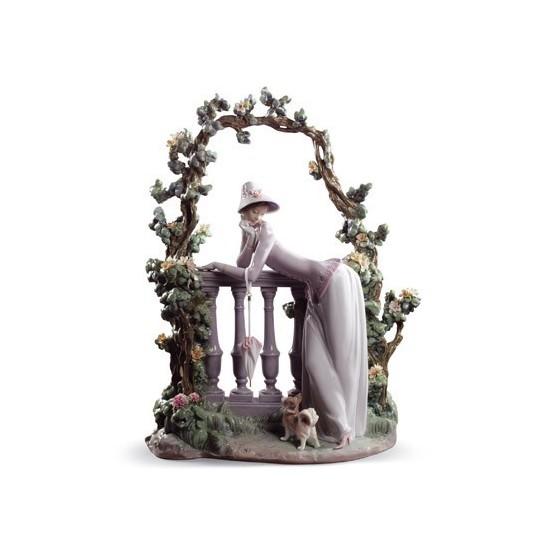 Figura de porcelana Lladró En la Balaustrada