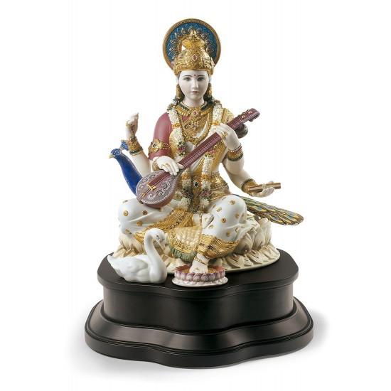 Figura de porcelana Lladró Saraswati
