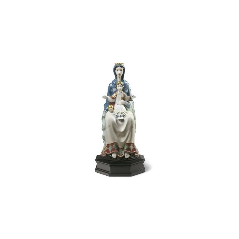 Figura de porcelana de Lladró Mater Románica