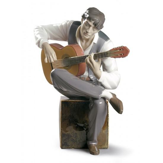 Figura de porcelana de Lladró Sentimiento Flamenco