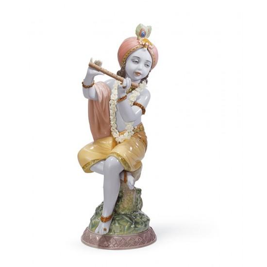 Figura de porcelana Lladró Pequeño Lord Krishna