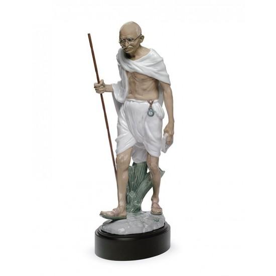 Figura de porcelana de Lladró  Mahatma Gandhi