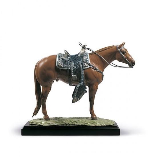 Figura de porcelana de Lladró Quarter Horse