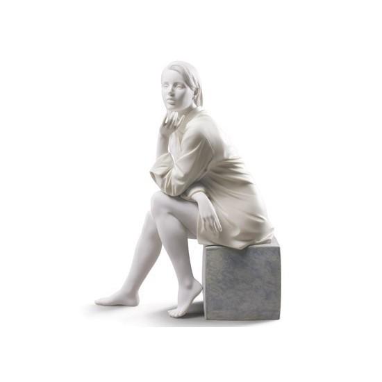 Figura de porcelana de Lladró Mi Momento de Calma