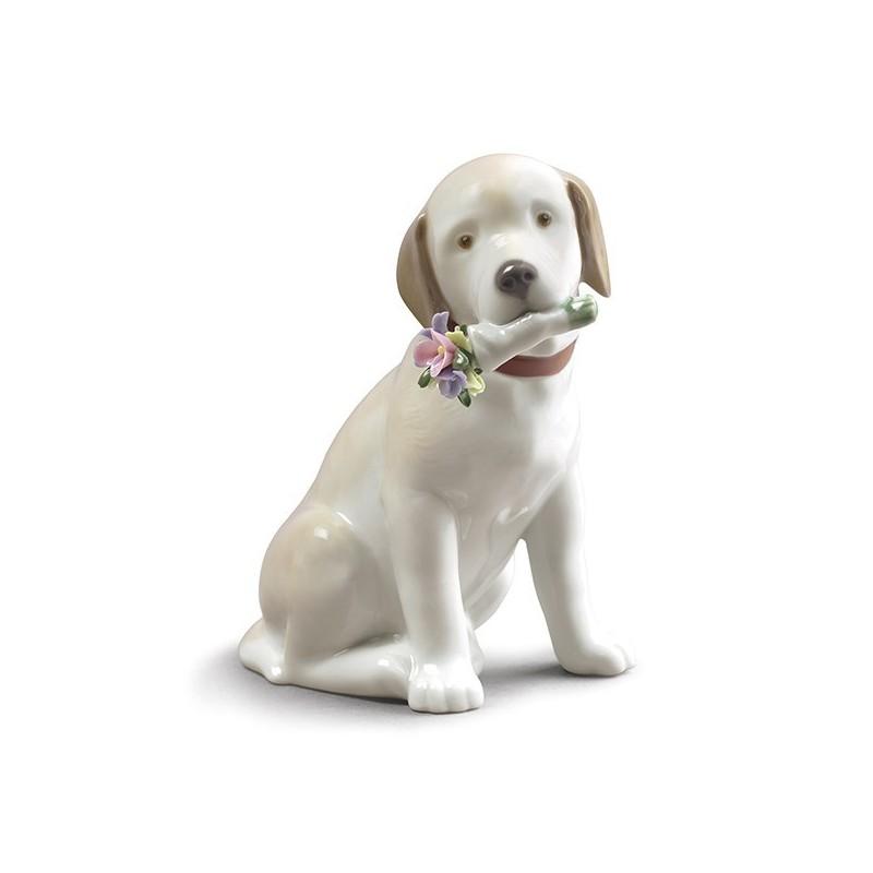 Figura de porcelana de Lladró Este Ramo Es Para Tí