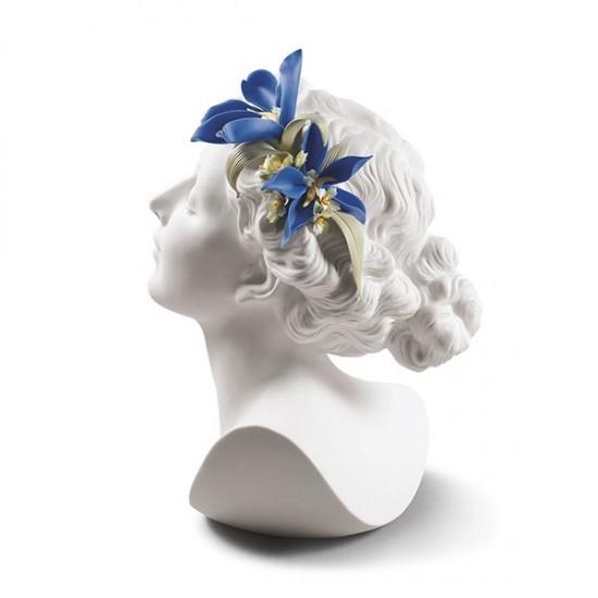 Figura de porcelana de Lladró Daisy Con Flores
