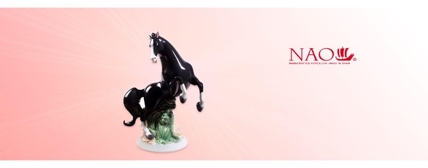 Figurines en porcelaine Animaux - NAO Porcelaine - Artestilo