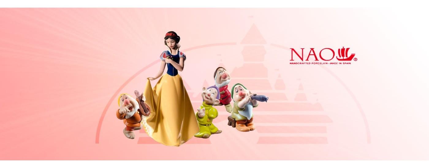 Figuras de porcelana. Fantasía (Disney) - NAO Porcelanas - Artestilo