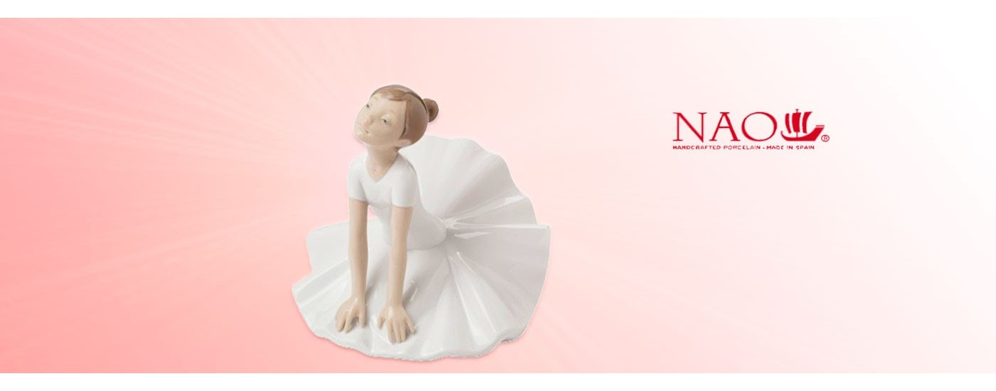 "Figurines en porcelaine ""Art et Ballet"" - NAO Porcelaine - Artestilo"