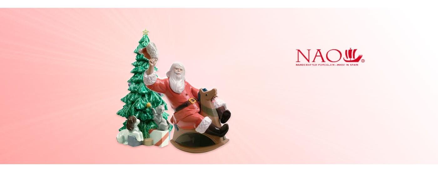 """Figuras de porcelana del tema """"Navidad"""" - NAO Porcelanas - Artestilo"""