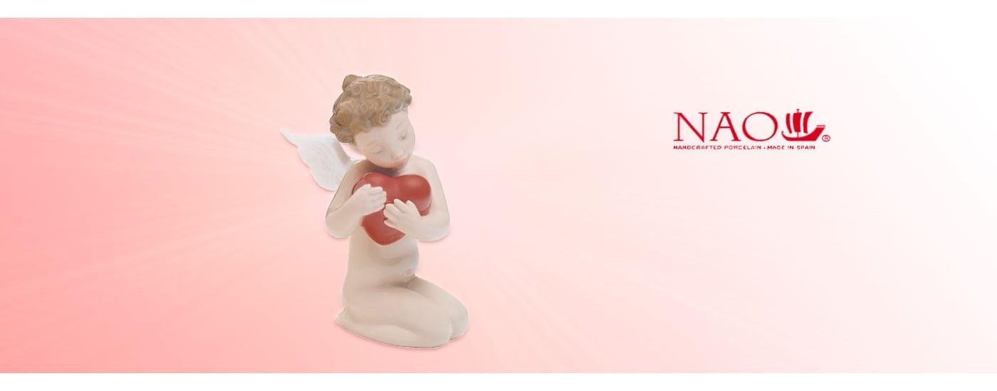 Figurines en porcelaine Les Anges - NAO Porcelaine - Artestilo