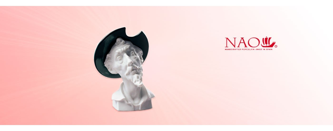 Figurines en porcelaine Art et Culture - NAO Porcelaine - Artestilo