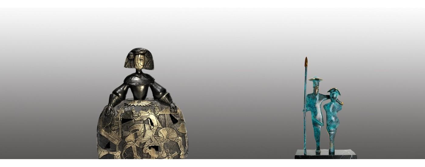 Figuras de bronce - Decoración - Artestilo