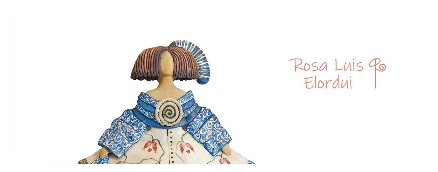 Meninas de cerámica  - Rosa Elordui - Artestilo