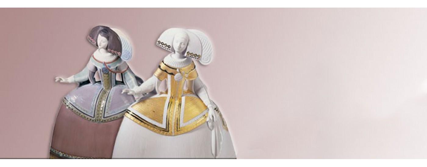 Lladró porcelain meninas - Decoration - Artestilo