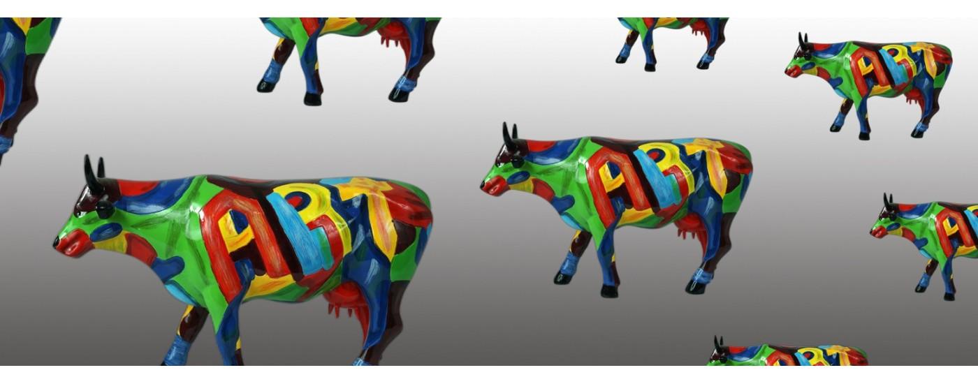 Esculturas de la vacas de CowParade - Decoración - Artestilo