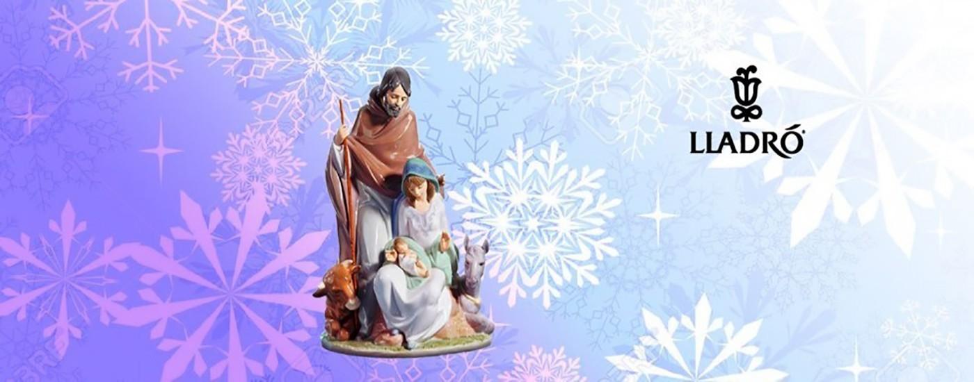 Figuras de porcelana Lladró de teme Navidad - Artestilo