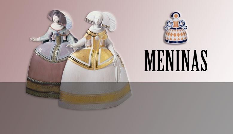 """Collection de figurines """"Meninas"""" de notre magasin."""